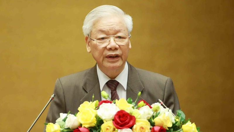 Tổng bí thư Nguyễn Phú Trọng - Ảnh: TTXVN