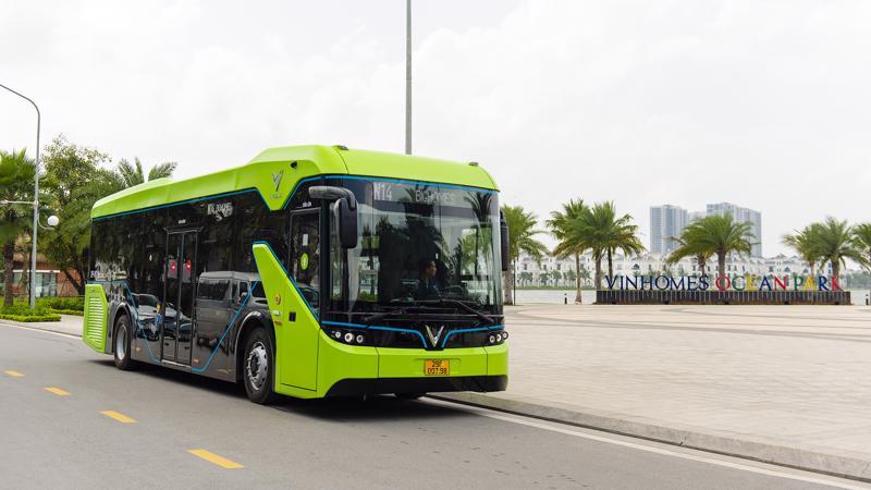 VinBus là mẫu xe buýt điện thông minh do VinFast sản xuất và lắp ráp tại Hải Phòng.