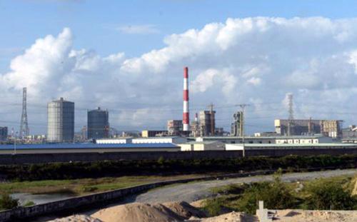 Một góc nhà máy thép Formosa Hà Tĩnh<br>