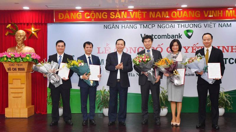 Vietcombank có ba nhân sự mới ở vị trí phó tổng giám đốc, cùng thay đổi quan trọng ở vị trí kế toán trưởng.