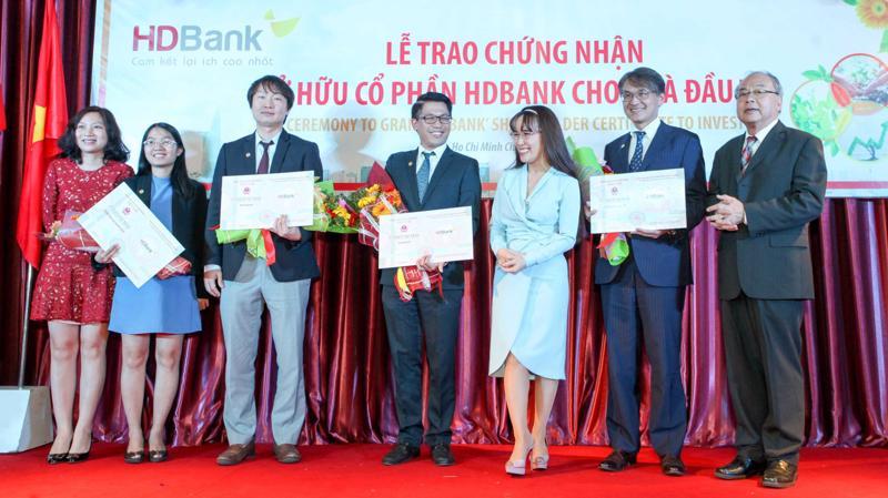 HDBank đã chào bán thành công 21,5% cổ phần cho các nhà đầu tư nói trên, mỗi nhà đầu tư đợt này được sở hữu không quá 3%.