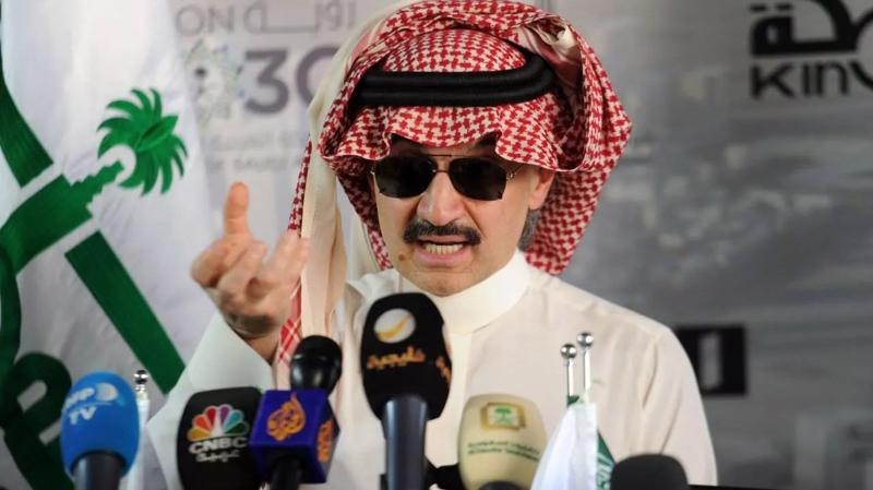 Hoàng thân Alwaleed bin Talal bị bắt trong chiến dịch cuối năm ngoái và mới được trả tự do vào tháng 1/2018 - Ảnh: Forbes.