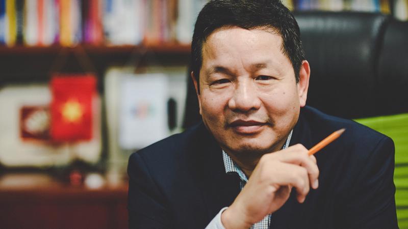 Ông Trương Gia Bình, Chủ tịch Hội đồng Quản trị công ty FPT.