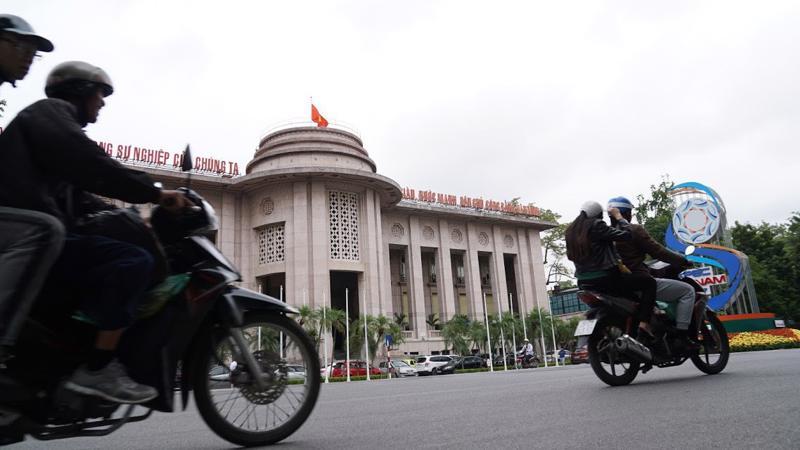 Trụ sở Ngân hàng Nhà nước tại Hà Nội - Ảnh: Quang Phúc.