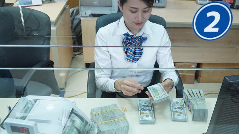 Dự kiến Ngân hàng Nhà nước cũng sẽ sớm có định hướng về chính sách tín dụng ngoại tệ, để doanh nghiệp chủ động nắm bắt, trước khi cơ chế kết thúc theo thông tư gần nhất đang áp dụng - Ảnh: Quang Phúc.