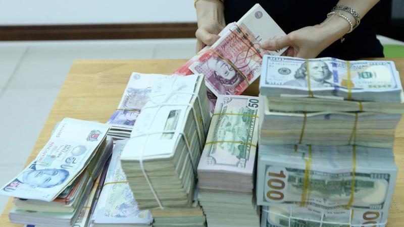 Tính chung 2018, Ngân hàng Nhà nước vẫn mua ròng được lượng lớn ngoại tệ và dự trữ ngoại hối quốc gia của Việt Nam tiếp tục có một năm cải thiện với kỷ lục mới - Ảnh: Quang Phúc.