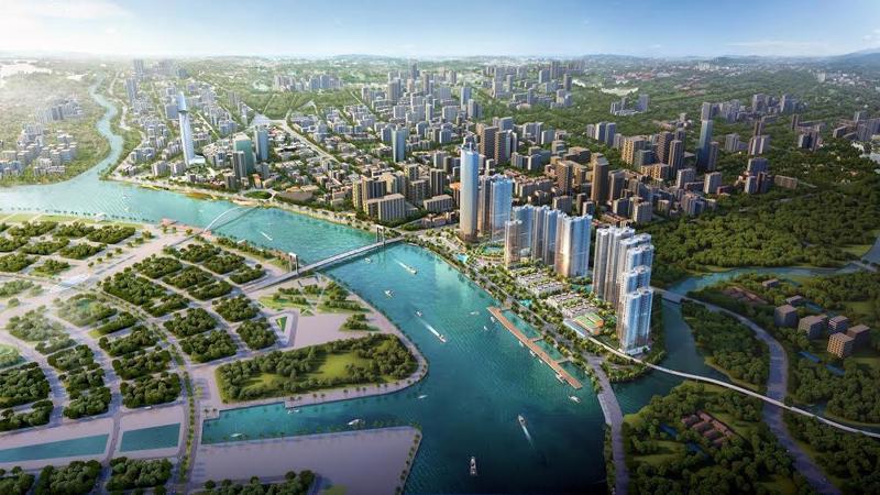Vinhomes Golden River là dự án bất động sản siêu sang tọa lạc trên nền khu vực Ba Son (quận 1, TP.HCM). Dự án sở hữu vị trí ngay trung tâm thành phố, có tầm nhìn bao quát ba hướng: hướng sông Sài Gòn, hướng Thảo Cầm Viên Sài Gòn, hướng trung tâm quận 1.