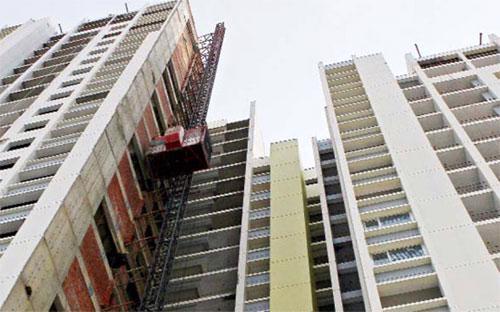 """Nhiều ý kiến vẫn băn khoăn cả về quy mô và mức độ """"giá băng"""" của thị trường bất động sản."""