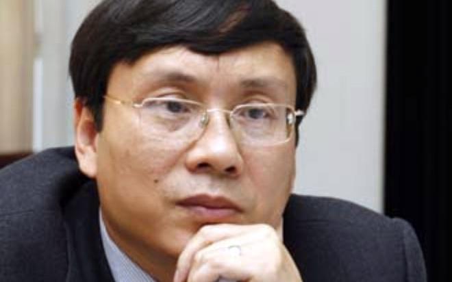 Chủ tịch Ủy ban Chứng khoán Nhà nước Vũ Bằng.