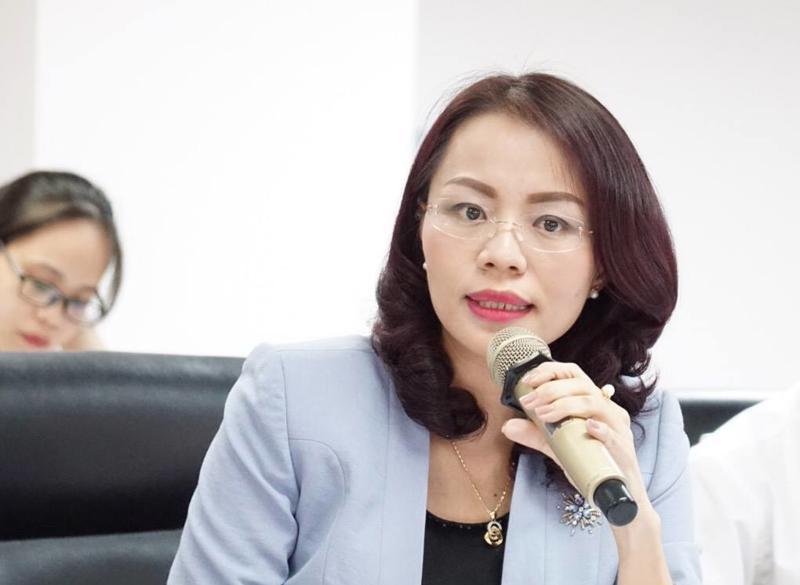 Bà Hương Trần Kiều Dung, Phó chủ tịch Hội đồng Quản trị Tập đoàn FLC.