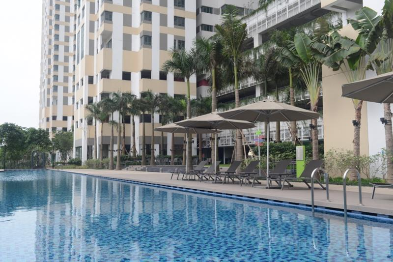 Với kiến trúc xanh, sạch, thân thiện môi trường theo tiêu chuẩn các resort Singapore cùng với hệ thống 54 tiện ích cao cấp cho 3 thế hệ, dự án đang được Đất Xanh Miền Bắc phân phối với giá từ 27,5 triệu đồng/m2.