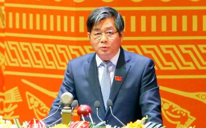 Bộ trưởng Bộ Kế hoạch và Đầu tư Bùi Quang Vinh - Ảnh: LQP.<br>