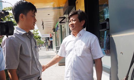 Ông Đoàn Ngọc Hải, Phó chủ tịch UBND quận 1, trong chiến dịch lập lại trật tự vỉa hè cách đây vài tháng tại Tp.HCM.<br>