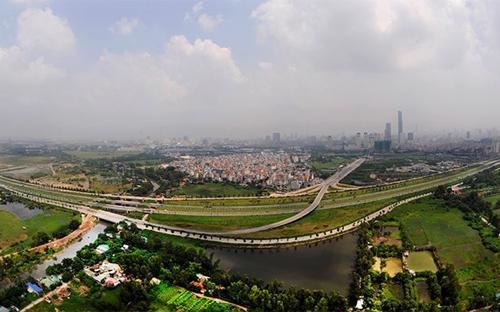 Theo quy hoạch phát triển kinh tế - xã hội của Thủ đô đến năm 2020, quá nửa huyện Từ Liêm nằm trong vành đai phát triển đô thị - Ảnh: Tri Thức.<br>