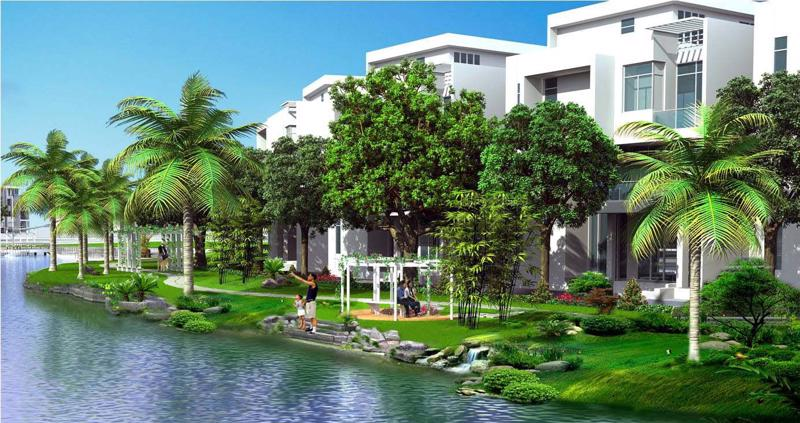 Thiết kế nhà vườn của đơn vị hàng đầu Haysom Architects theo phong cách hiện đại của vùng Địa Trung Hải là một trong những yếu tố thu hút khách hàng.