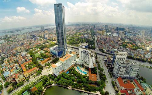 Một góc Thủ đô Hà Nội.<br>