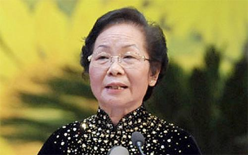 Phó chủ tịch nước Nguyễn Thị Doan.<br>