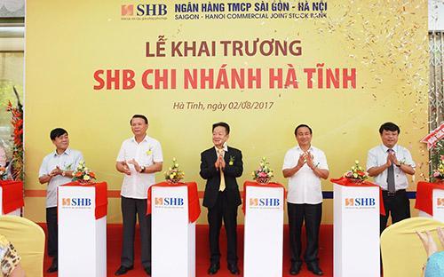 Hiện SHB đã có gần 60 chi nhánh, 500 điểm giao dịch trên cả nước.<br>