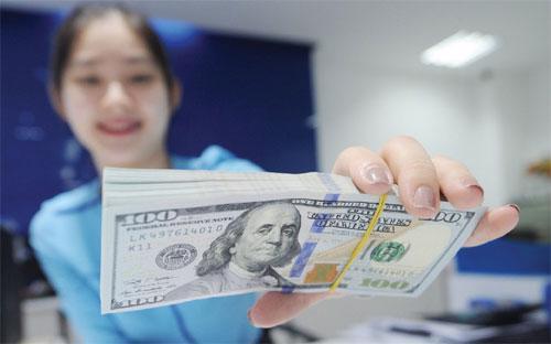 Chỉ trong thời gian ngắn gần đây, Ngân hàng Nhà nước tiếp tục gia tăng  quy mô dự trữ ngoại hối quốc gia lên kỷ lục mới, ước tính có thể đạt  trên 43 tỷ USD.