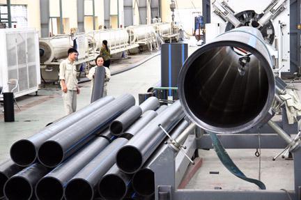 Tháng 9/2013, Nhựa Thiếu niên Tiền phong đã chính thức khánh thành nhà  máy mới tại khu công nghiệp Nam Cấm (Nghệ An), với tổng vốn đầu tư 120  tỷ đồng.