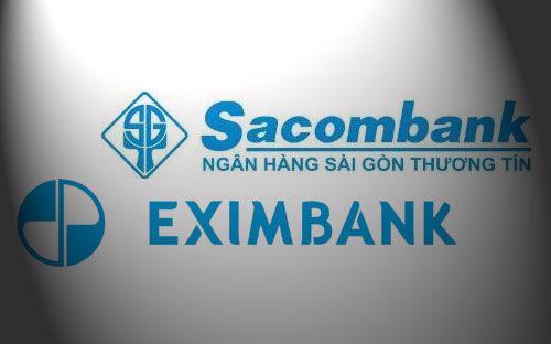 Những khó khăn trong hoạt động kinh doanh của Sacombank và Eximbank có thể sẽ vẫn còn thể hiện trong các kỳ báo cáo nối tiếp.
