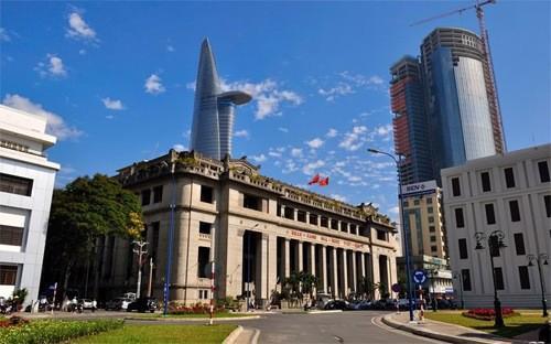 Trụ sở Ngân hàng Nhà nước tại Tp.HCM.<br>
