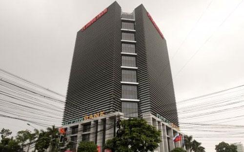 Trụ sở Tập đoàn Dầu khí Việt Nam (Petro Vietnam) tại Hà Nội.<br>