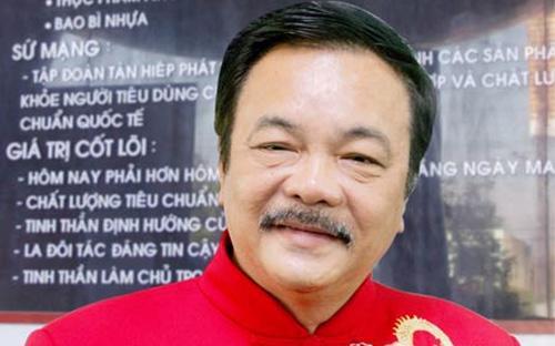 TS. Trần Quí Thanh, Chủ tịch kiêm Tổng giám đốc Tân Hiệp Phát.