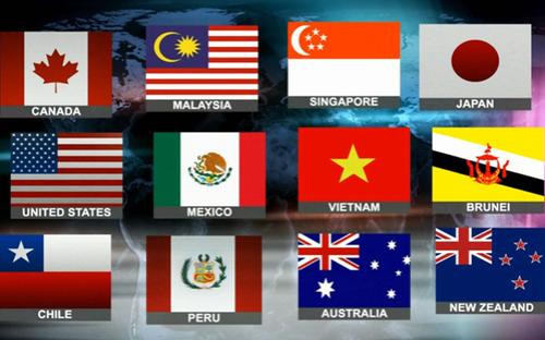 Hiệp định TPP bao gồm 12 nước tham gia, được ký vào ngày 4/2/2016.<br>