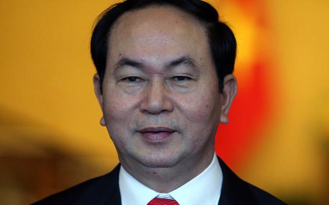 Tân Chủ tịch nước, ông Trần Đại Quang - Ảnh: Như Phúc.<br>