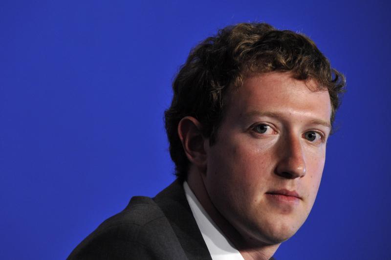 Mark Zuckerberg, nhà sáng lập Facebook.