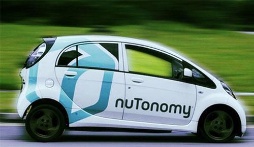 Taxi tự lái của NuTonomy - Ảnh: CNN.<br>