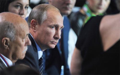 Tổng thống Nga Vladimir Putin - Ảnh: RIA/AP/Washington Post.<br>