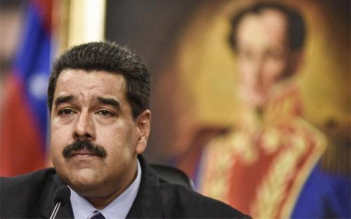 Tổng thống Venezuela Nicolas Maduro - Ảnh: Bloomberg/Time.<br>