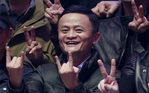 Nhà sáng lập Alibaba Jack Ma tại Bắc Kinh hôm 11/11 - Ảnh: Reuters/WSJ.<br>
