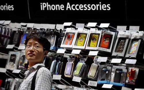 Trung Quốc từ lâu được xem là một thị trường đầy tính thách thức đối với  Apple do sự cạnh tranh gay gắt từ Samsung và các hãng di động giá rẻ  nội địa - Ảnh: Karpe.<br>