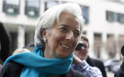 Tổng giám đốc Quỹ Tiền tệ Quốc tế, bà Christine Lagarde - <i>Ảnh: Reuters.</i><br>