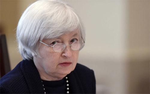 Chủ tịch FED, bà Janet Yellen.<br>