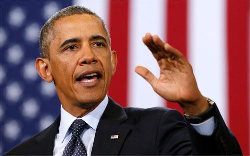 Tổng thống Mỹ Barack Obama.<br>