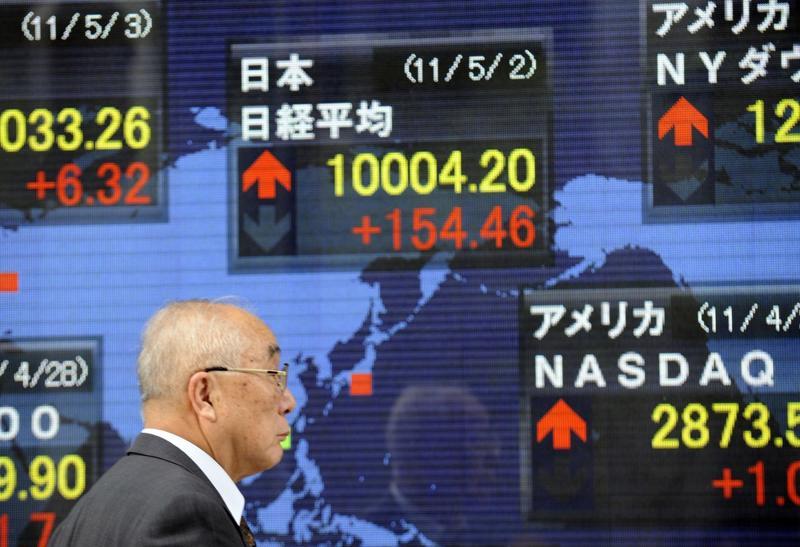 Cchỉ số Nikkei 225 của thị trường Tokyo tăng 1,2% phiên sáng 7/11.<br>