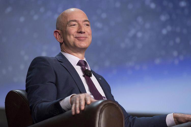 Tỷ phú Jeff Bezos, nhà sáng lập Amazon - Ảnh: Bloomberg.<br>
