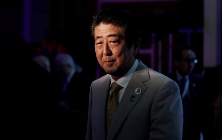 Thủ tướng Nhật Bản Shinzo Abe - Nguồn: Reuters.<br>