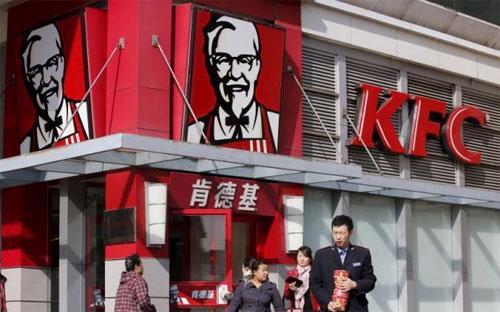 Một cửa hiệu KFC ở Bắc Kinh, Trung Quốc - Ảnh: Reuters.<br>