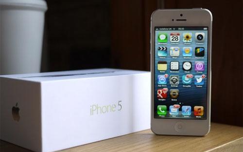 Apple bắt đầu đưa iPhone 5 ra thị trường toàn cầu vào ngày 21/9 năm nay.