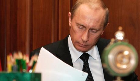 Tổng thống Nga Vladimir Putin đã ký sắc lệnh trừng phạt đối với CHDCND Triều Tiên - Ảnh: Rurv.<br>
