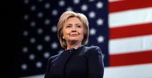 Ứng cử viên Tổng thống Mỹ Hillary Clinton.<br>