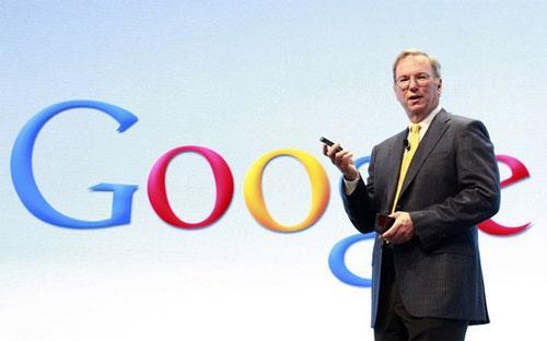 Ông Eric Schmidt, Chủ tịch điều hành Google - Ảnh: Reuters.<b><br></b>