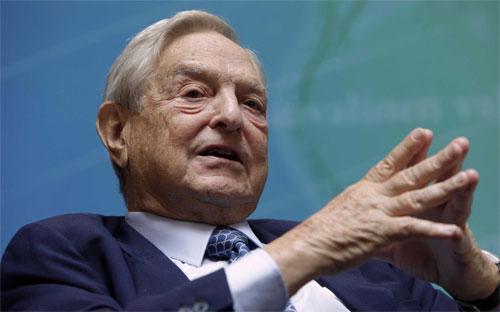 Tỷ phú George Soros.<br>