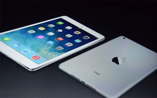 Máy tính bảng iPad Air của Apple.<br>