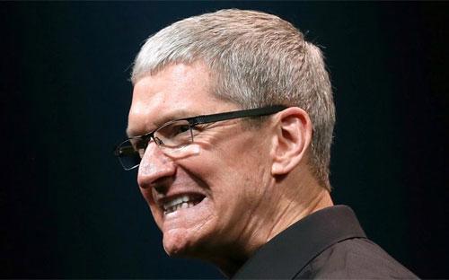 Giám đốc điều hành (CEO) Tim Cook của Apple.<br>